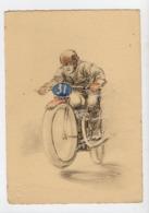 BARRE & DAYEZ - Illustrateur - Sport MOTO - Motociclismo