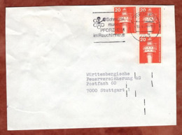 Brief, Leuchtturm, MS Pforzheim, Nach Stuttgart 1979 (80861) - Storia Postale