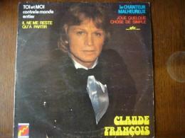Claude François: Toi Et Moi Contre Le Monde Entier/ 33t Disques Flèches 6325 681 - Other - French Music