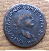 RIPRODUZIONE MONETA FALSA ROMANA DA CATALOGARE - - Fausses Monnaies