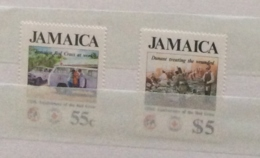 Jamaica 1988 125th Red Cross Set MNH - Jamaica (1962-...)