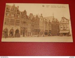 """LIER  -   LIERRE  -  Groote Markt -  Spijshuis """" De Valk """" - Lier"""