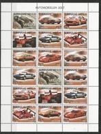 SURINAME - MNH - Transport - Cars - Sport - 2007 - Cars