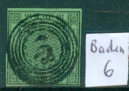 Baden  6   O / Used   (L863) - Baden