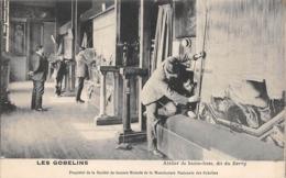 Thème  Métiers . Tapisserie.Tannerie. Manufacture Des Gobelins . Atelier  Haute Lisse  Dit Du Berry        (voir Scan) - Artisanat