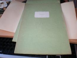 Old Herbarium Salicaceae 1927 - B. Blumenpflanzen Und Blumen