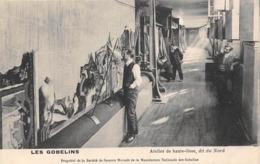 Thème  Métiers . Tapisserie.Tannerie. Manufacture Des Gobelins . Atelier  Haute Lisse  Dit Du Nord        (voir Scan) - Artisanat