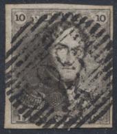 épaulette - N°1 Margé Obl P29 Courtrai. Superbe ! - 1849 Schulterklappen