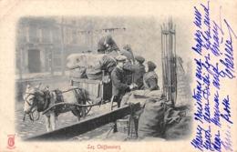Thème  Métiers . Tapisserie.Tannerie. Paris  Les Chiffonniers    Edi.Kunzli    (voir Scan) - Artisanat