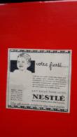 Pub Nestlé,votre Fierté - Reclame