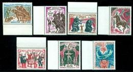Monaco 1974 Circus Festival,Tiger,Elephant,Clown,Tightrope,Trapeze,Mi.1130-6,MNH - Circus