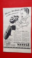 Pub Nestlé,montre Tes Dents - Reclame