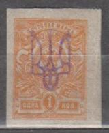 Ukraine 1918 Mi# 29 Kiev IIe Overprint  MNH * * - Ukraine