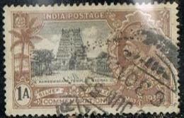 Grande-Bretagne (ex-colonies & Protectorats)  1935 Inde Y&T IN-GB 138 -  Rameswaram Temple - India (...-1947)
