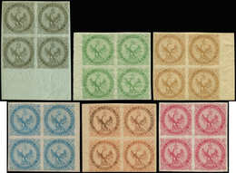* COLONIES GENERALES - Poste - 1/6, Complet En Blocs De 4 - Superbe (1/4 + 6 = **) - France (former Colonies & Protectorates)
