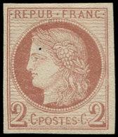 (*) COLONIES GENERALES - Poste - 15, 2c. Brun Cérès - France (former Colonies & Protectorates)