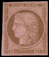 * COLONIES GENERALES - Poste - 18, 10c. Brun - France (former Colonies & Protectorates)