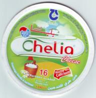 """Algérie - 1  Couvercle De  Fromage Fondu """" Chelia"""" 16 Portions. - Fromage"""