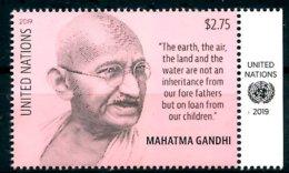 ONU New-York 2019 - Mahatma Gandhi ** - Mahatma Gandhi