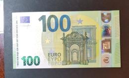 5 Euro 2019 Italy S004 E1 UNC ! - 100 Euro
