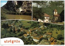 Carte Postale 01. Virignin Vue D'avion Trés Beau Plan - Non Classés