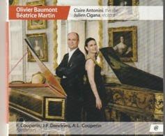 Olivier Baumont Beatrice Martin  CLAVECIN  Couperin  Dandrieu    Etat: TTB Port 90 GR - Classical