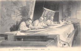 Thème  Métiers . Tapisserie.Tannerie.   60 Beauvais   Atelier  LL71    (voir Scan) - Artisanat