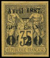 (*) GUYANE - Poste - 4, Très Bel Exemplaire: 0.20 S. 35c. Violet (Maury) - Guyane Française (1886-1949)