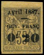 (*) GUYANE - Poste - 4a, Bdf: 0.20 S. 35c. Violet - Guyane Française (1886-1949)