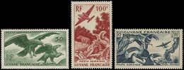 ** GUYANE - Poste Aérienne - 35/37, Oiseaux - Guyane Française (1886-1949)