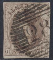 """Médaillon - N°10A Margé Obl P28 """"Ciney"""" - 1858-1862 Médaillons (9/12)"""