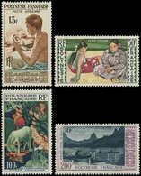 ** POLYNESIE - Poste Aérienne - 1/4, Tableaux - Polynésie Française