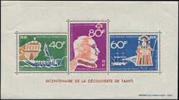 ** POLYNESIE - Blocs Feuillets - 1, Bicentenaire De Tahiti - Polynésie Française
