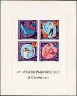 EPL POLYNESIE - Blocs Feuillets - 2, épreuve De Luxe: Jeux Pacifique, Golf, Tennis (Maury) - Polynésie Française