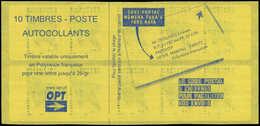 ** POLYNESIE - Carnets - Maury 6, Carnets 6.00f. Marara Bleu 27/8/03 - Polynésie Française