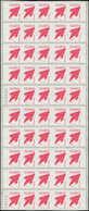 ** POLYNESIE - Carnets - Maury 9, Feuille Complète De 5 Carnets: Marara Rouge, 15/3/05 - Polynésie Française