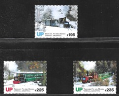 ARGENTINA 2019 TRANSPORT,TRAIN OF THE END OF WORLD FIRELAND MNH - Stamps