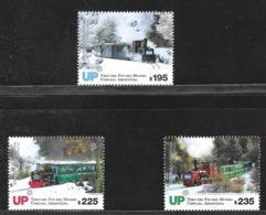 ARGENTINA 2019 TRANSPORT,TRAIN OF THE END OF WORLD FIRELAND MNH - Postzegels
