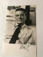 Albert Finney Photo Autograph Signed Authentic 10x15 Cm - Fotos Dedicadas