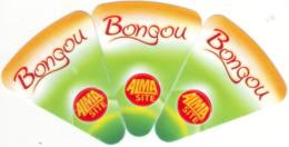 """Algérie - 3 étiquettes De  Fromage Fondu """" Bongou"""". - Cheese"""