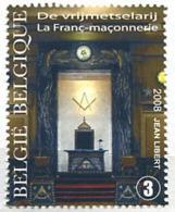 103 BELGIQUE 2008 - Masonic Franc Maconnerie Freemasonry Freimaurerei - Neuf (MNH) Sans Trace De Charniere - Freimaurerei