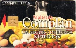 MEXICO - Malteada Complan, Chip GEM1.2, Used - Mexico