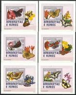 Mozambique 2007 Mi Lx 2928-2933 MNH ( ZS6 MZBlx2928-2933 ) - Papillons