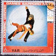 Jemen (YAR **) - Olympiade Sapporo Paarlauf (MiNr: 1446) 1970 - Gest Used Obl - Yemen