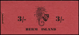 ** GB - ILES ANGLO-NORMANDES - Carnets - Herm Island, Carnet Local 3/- (Juillet 1959) - Sonstige - Europa
