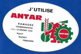 A.C. Sarthe J'utilise ANTAR Ramaugé Courdemanche - Autocollants