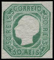 ** PORTUGAL - Poste - 16, Réimpression: 50r. Vert - Non Classés
