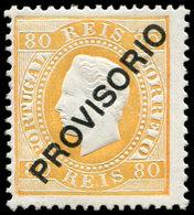 * PORTUGAL - Poste - 92, Très Frais: 80r. Orange - Non Classés