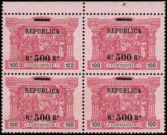 (*) PORTUGAL - Poste - 194, Bloc De 4, Bdf: 500r. S. 100r. Vasco De Gama - Non Classés