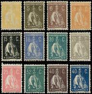 * PORTUGAL - Poste - 273/98, Complet 26 Valeurs: Cérès 1923/24 - Non Classés